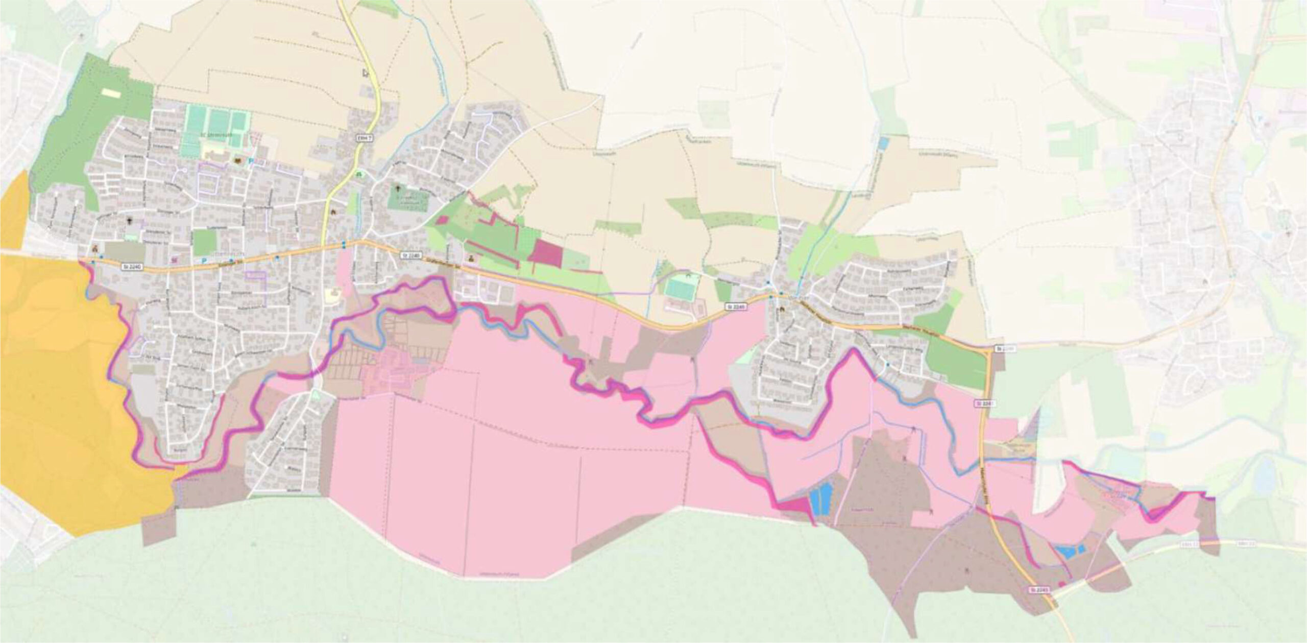 Ausweisung des Schwabachtals als Landschaftschutzgebiet