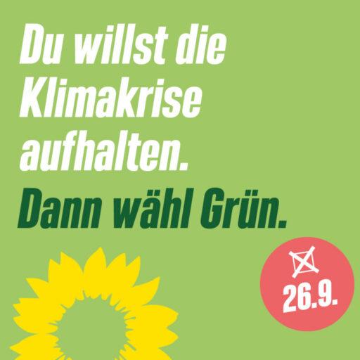 Infostand Bundestagswahl